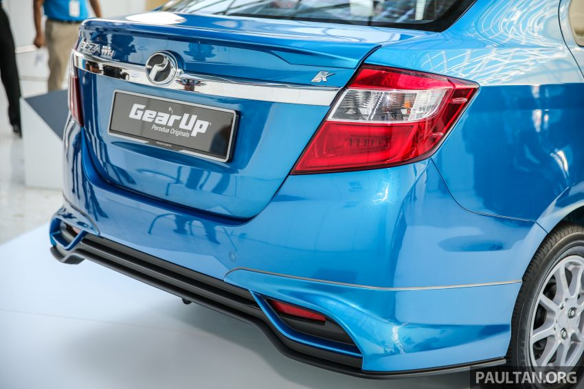 Perodua Bezza: 无需现款即可选购Gear Up套件 Image #45