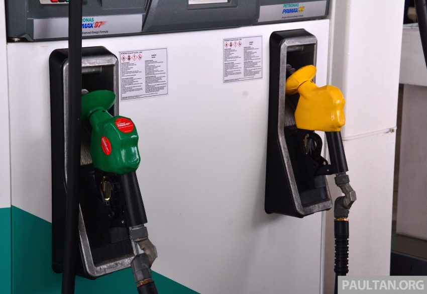 2016年8月油价,RON 95与97保持不变,柴油起价10仙! Image #2198