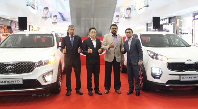 Kia Malaysia Introduces the All New Sorento and All New Sportage in East Malaysia 1