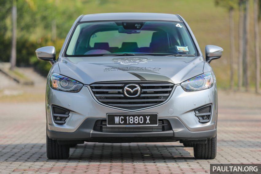 柴油上身,动力提升!Mazda CX-5 SkyActiv-D试驾体验! Image #4270