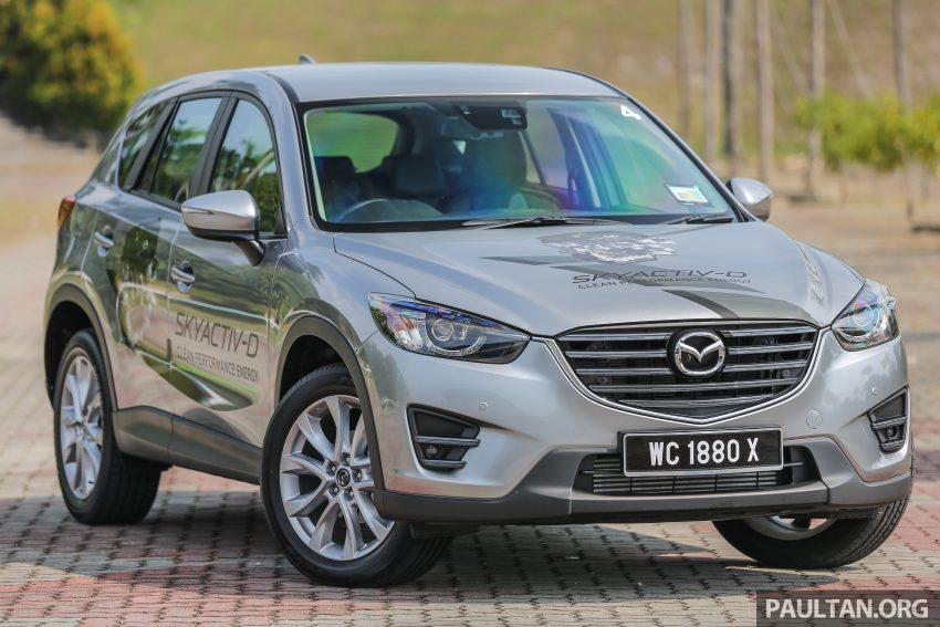 柴油上身,动力提升!Mazda CX-5 SkyActiv-D试驾体验! Image #4271