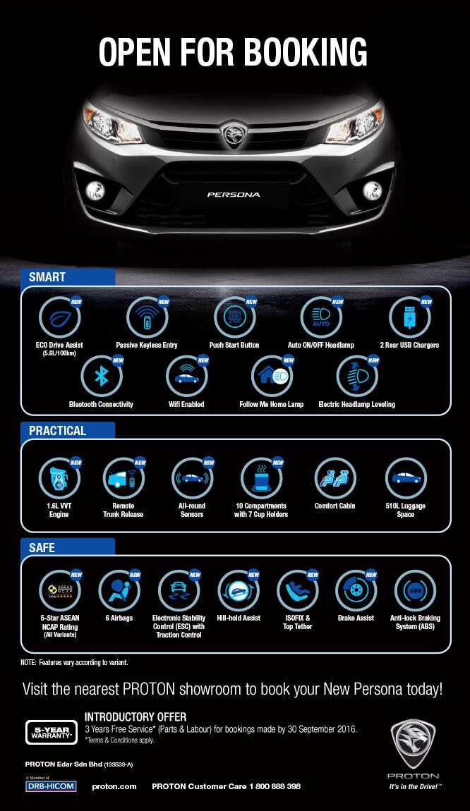 售价正式出台,全新Proton Persona RM47k到RM61k! Image #4057
