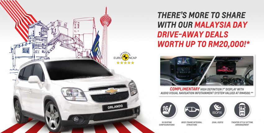 Chevrolet国庆促销,Cruze折扣2万令吉+赠送原厂配件! Image #4051