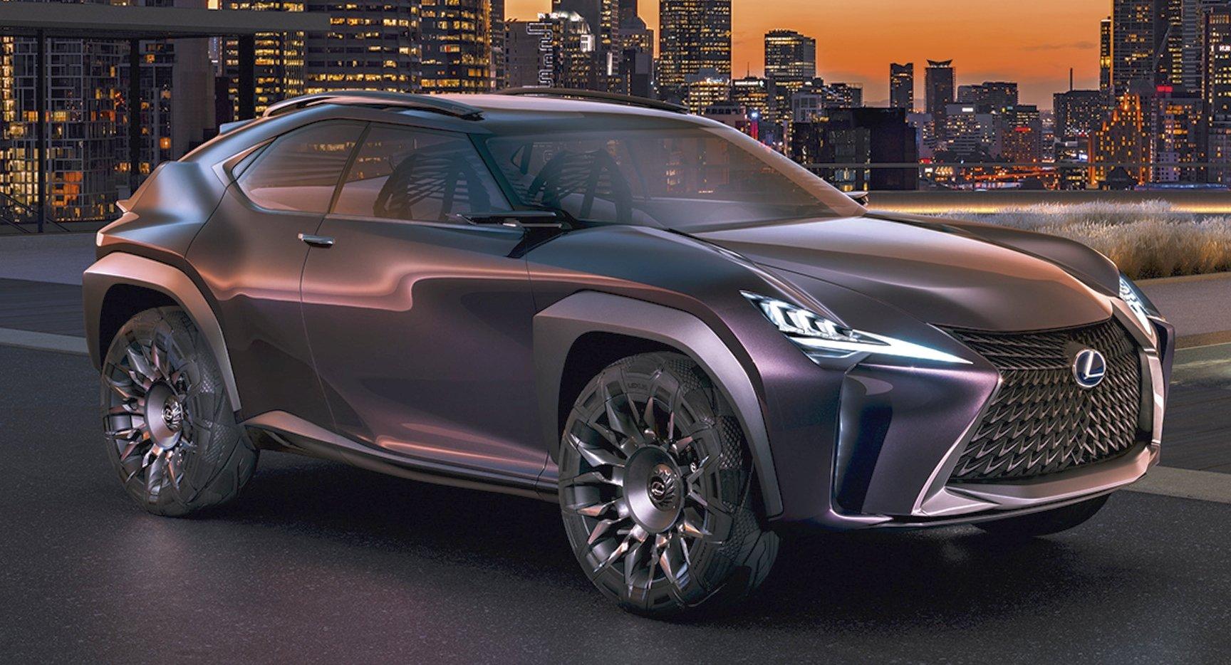Lexus Ux概念车发布,定位在lexus Nx之下的小型suv。 Paul Tan 汽车资讯网
