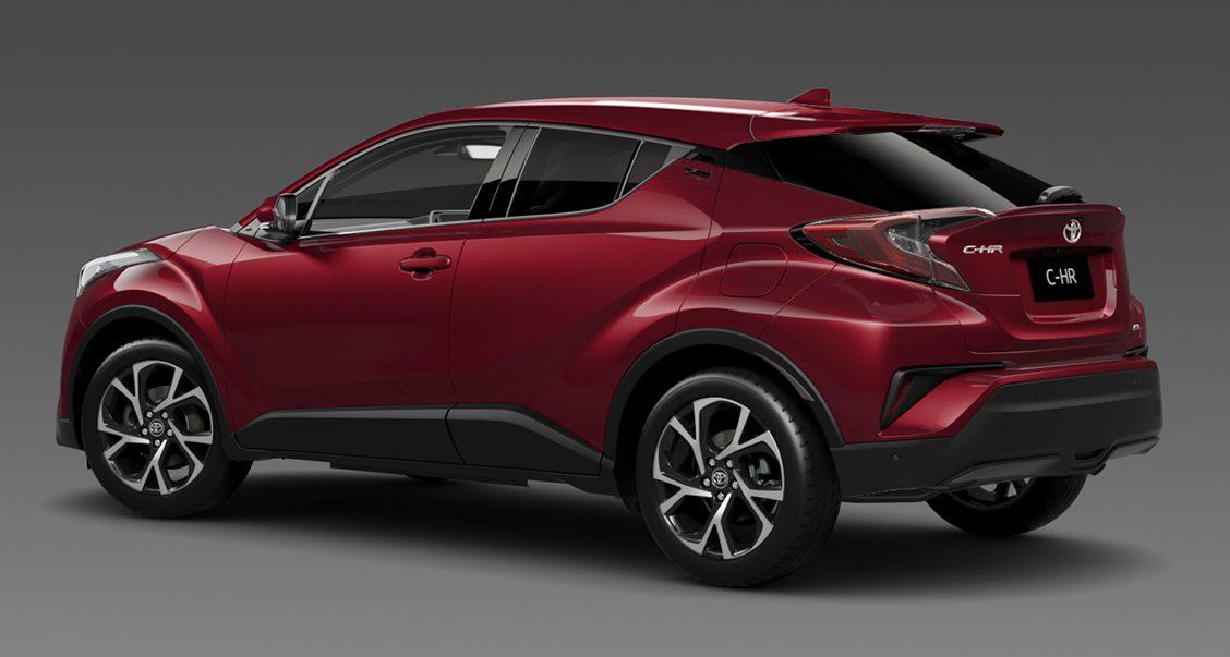 Toyota C-HR明年初澳洲上市,分2等级搭载涡轮引擎! 2017_toyota_c-hr_koba_01 ...