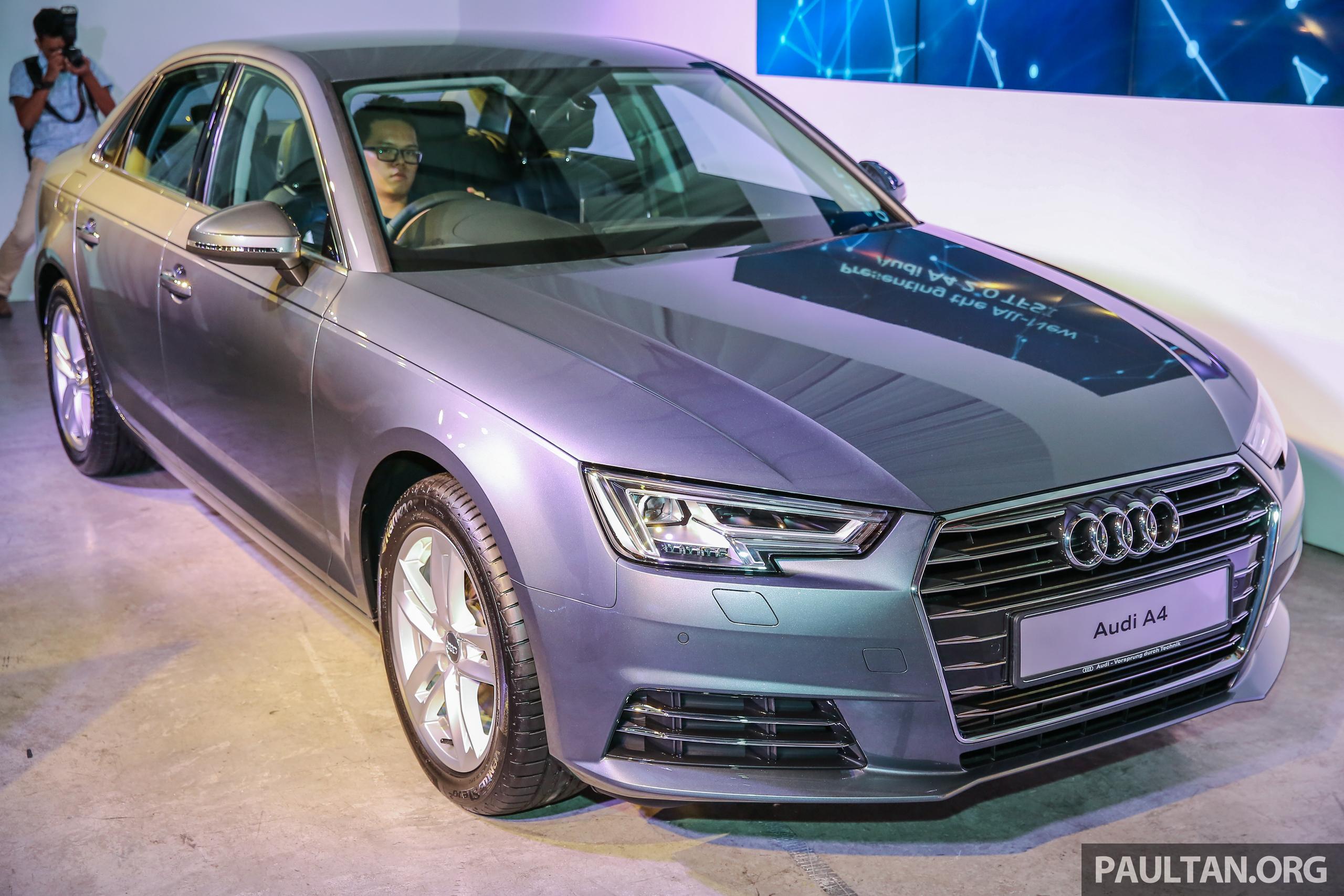 全新Audi A4我國上市,三个等级,2.0 TFSI售RM240k! audi_b9a4_ext-2 - Paul ...