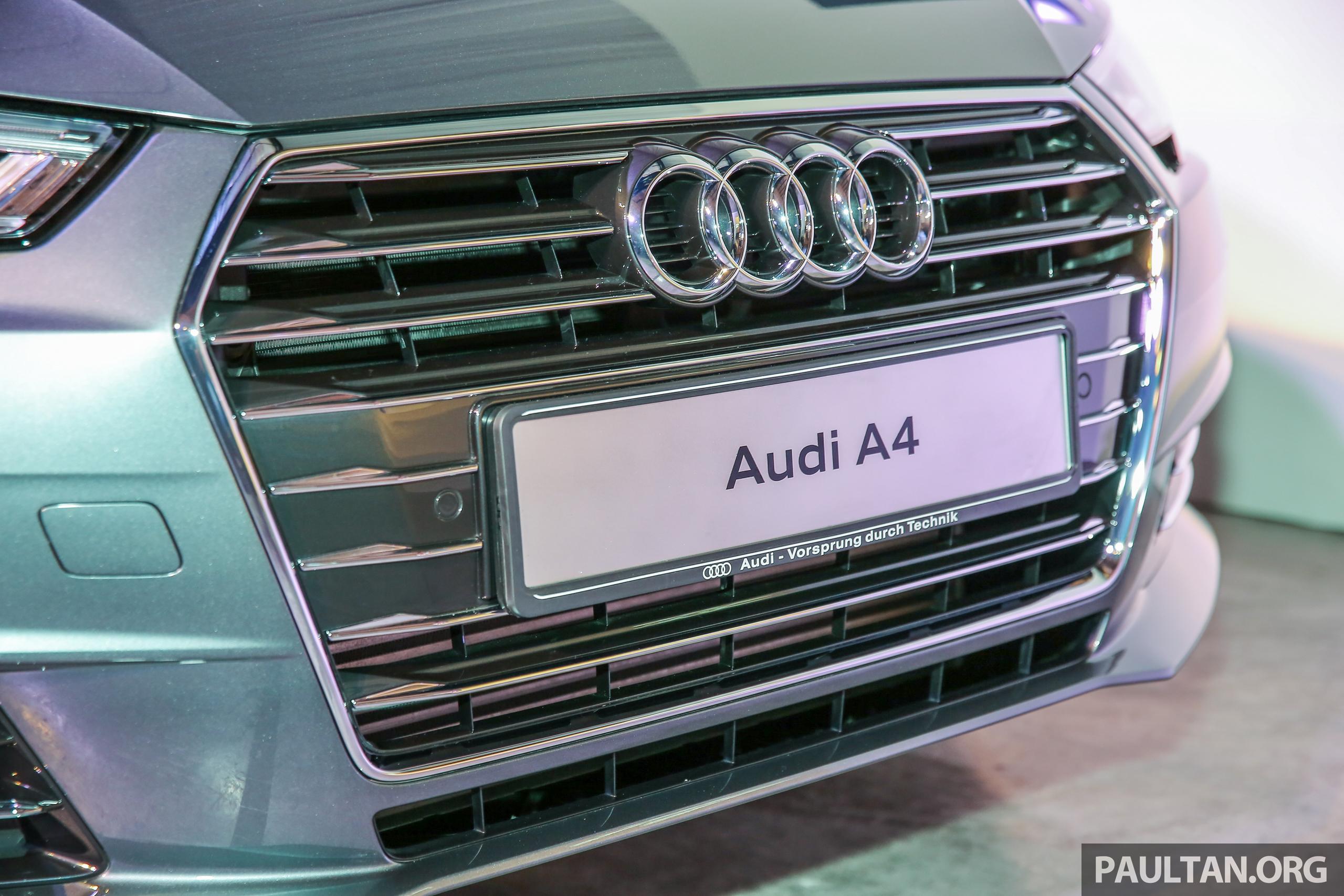 全新audi A4我國上市,三个等级,2 0 Tfsi售rm240k! Audi B9a4 Ext 6 Paul