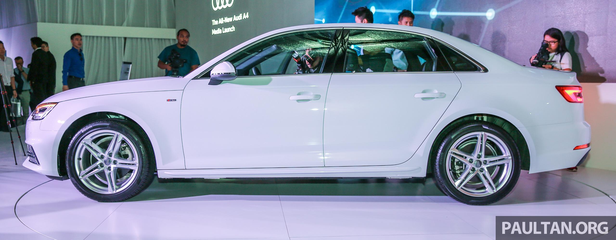 全新audi A4我國上市,三个等级,2 0 Tfsi售rm240k! Audi B9a4 Sline Ext 10