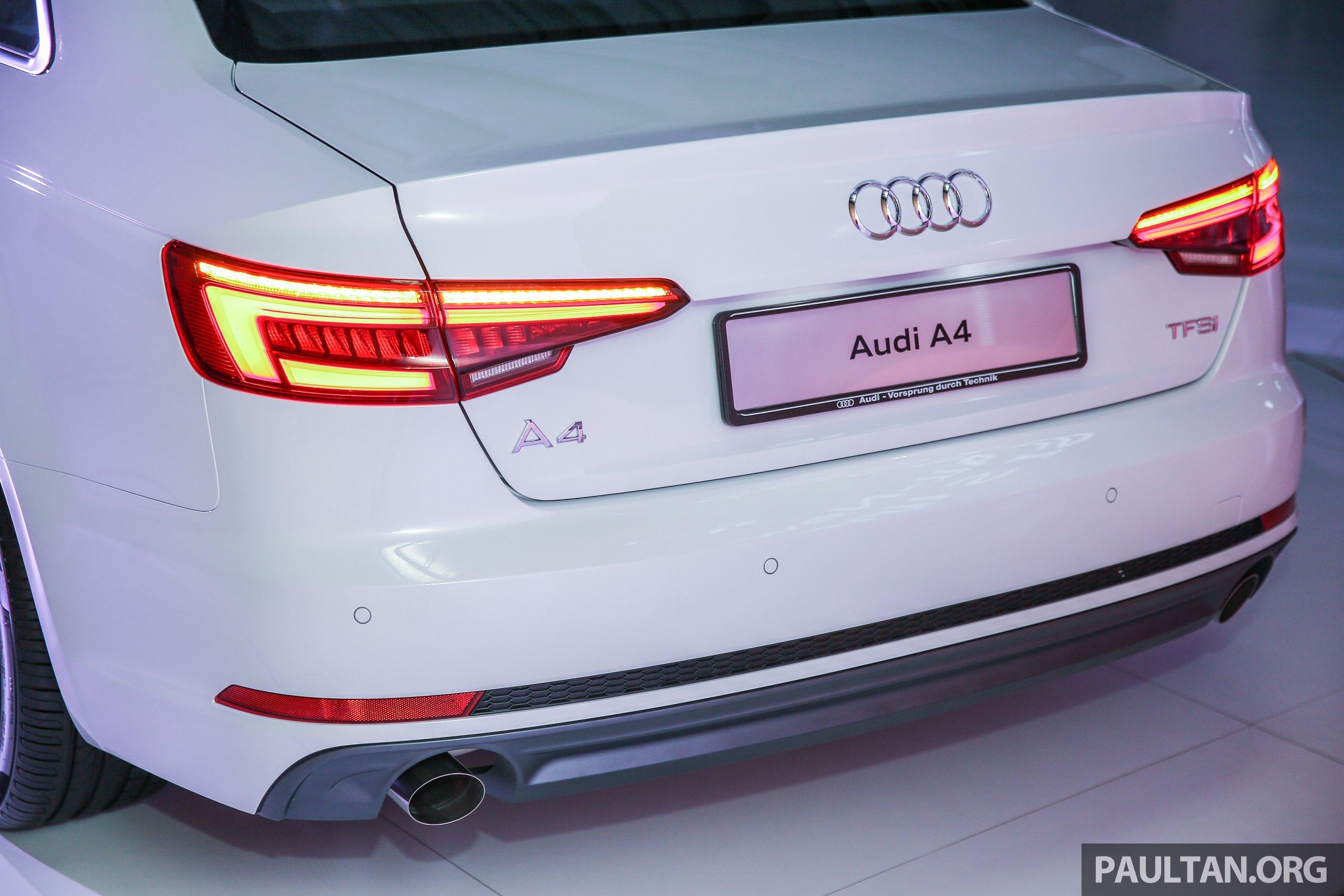全新audi A4我國上市,三个等级,2 0 Tfsi售rm240k! Audi B9a4 Sline Ext 17