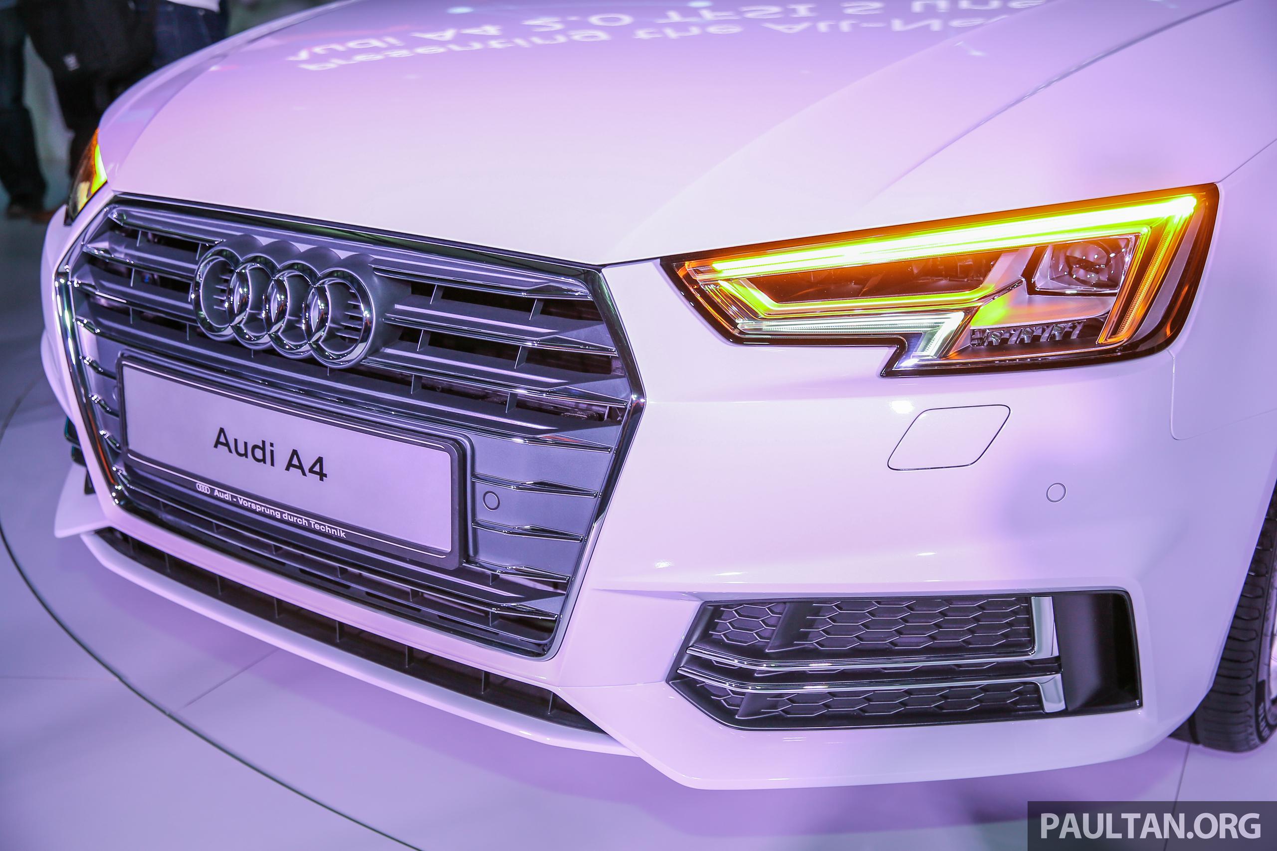 全新audi A4我國上市,三个等级,2 0 Tfsi售rm240k! Audi B9a4 Sline Ext 4