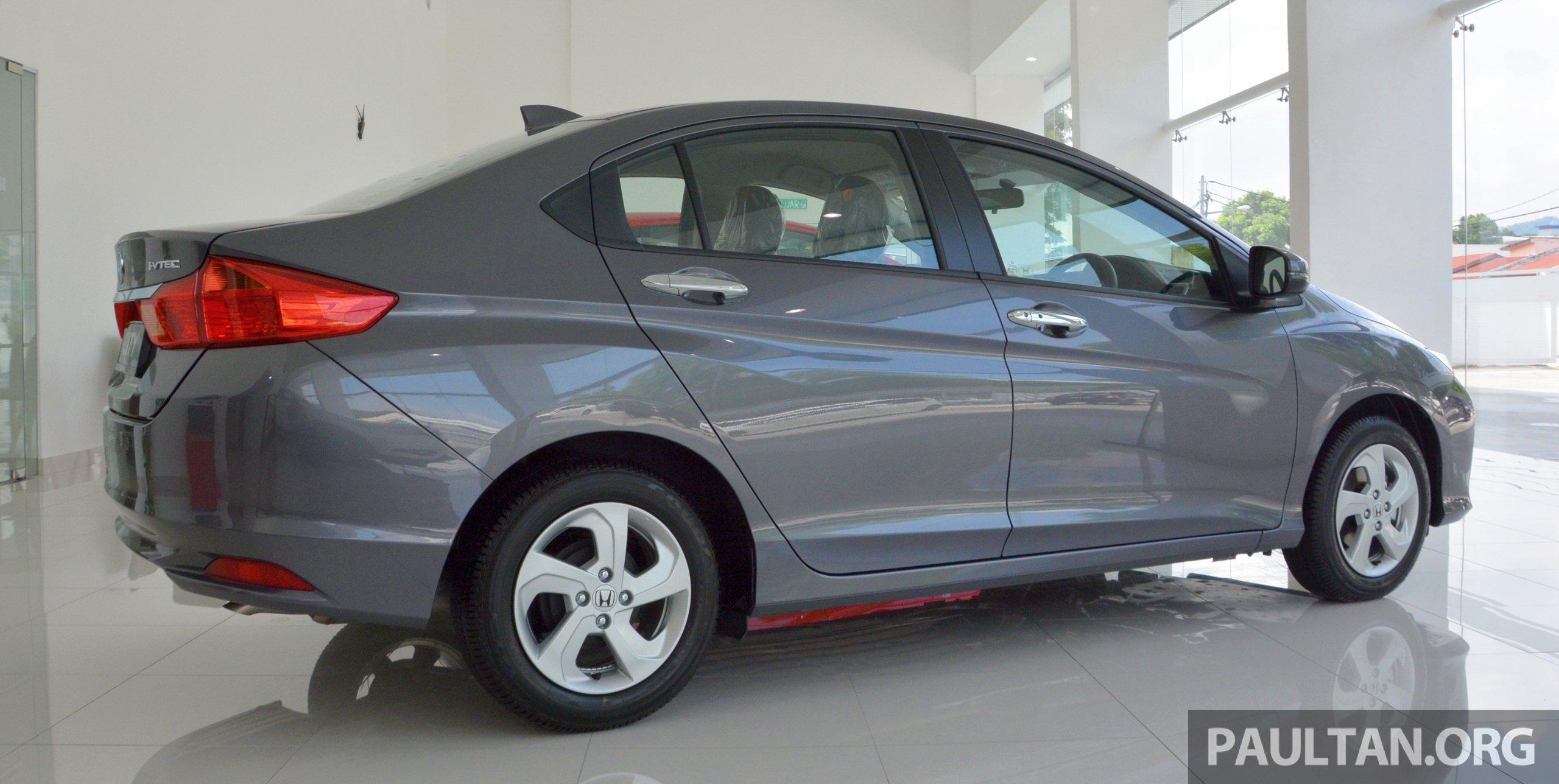 Honda City X 与普通版到底有何不同?来看真车实照吧! Honda City X 03 Paul
