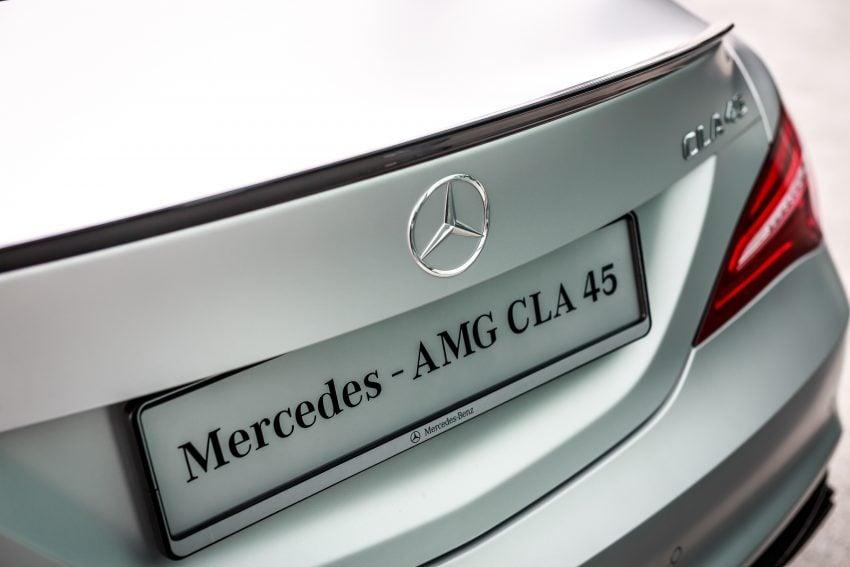 Mercedes-Benz CLA小改上市,配备提升,RM237k起。 mercedes-amg-cla-45-25 ...