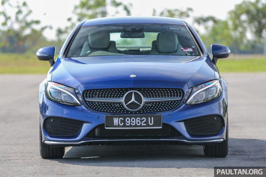 能文能武:Mercedes-Benz C250 Coupe 试驾心得。 Image #8306