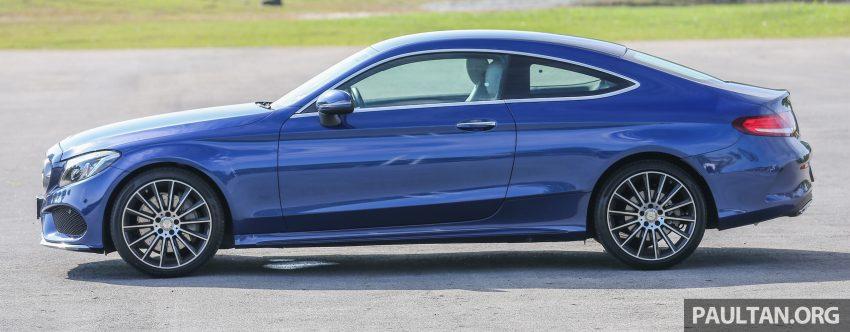 能文能武:Mercedes-Benz C250 Coupe 试驾心得。 Image #8319