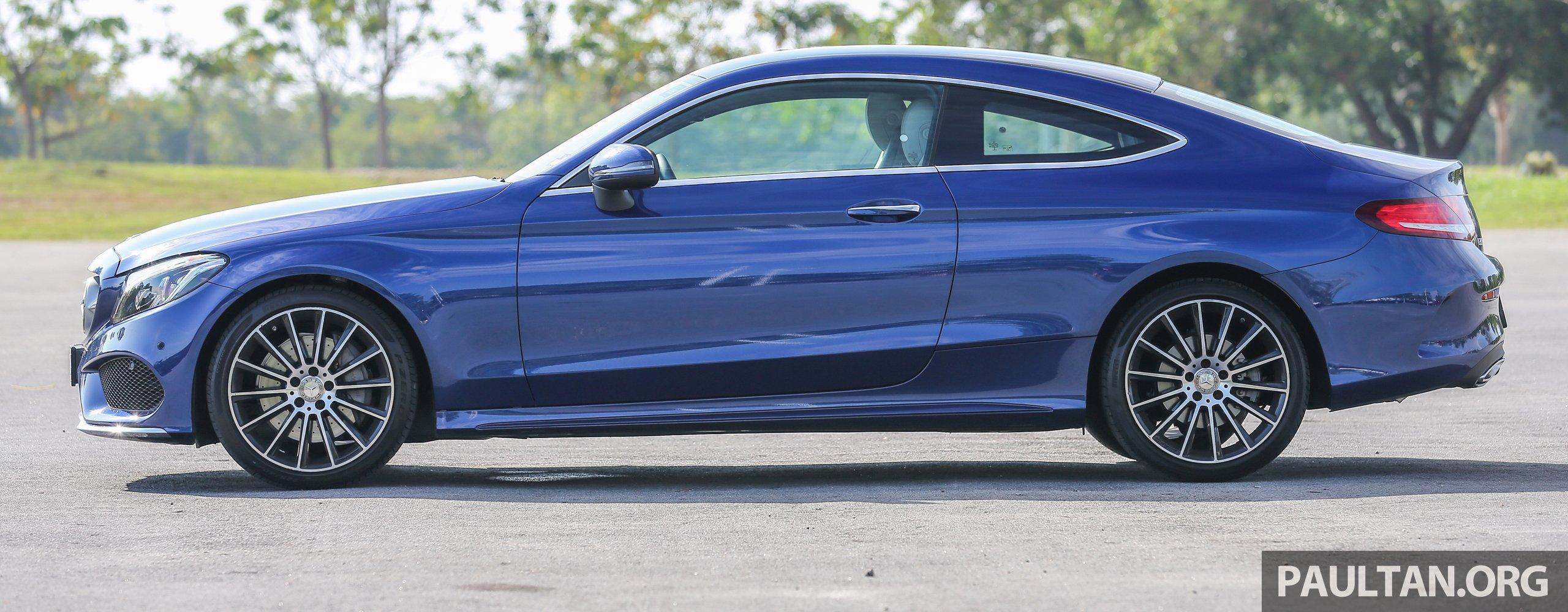 能文能武:mercedes Benz C250 Coupe 试驾心得。 Mercedesbenz C250coupe