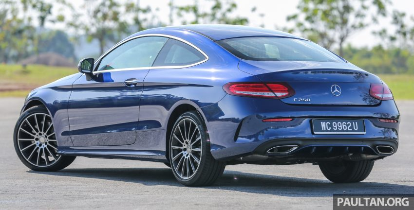 能文能武:Mercedes-Benz C250 Coupe 试驾心得。 Image #8330