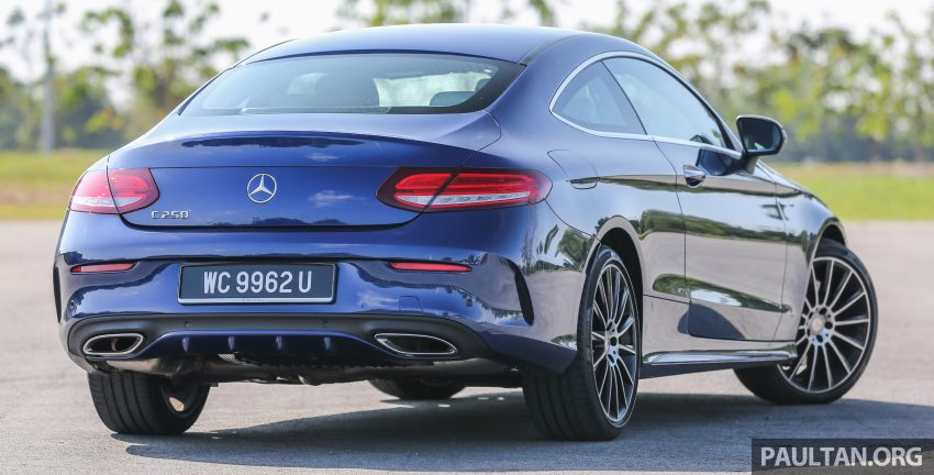 能文能武:Mercedes-Benz C250 Coupe 试驾心得。 Image #8332