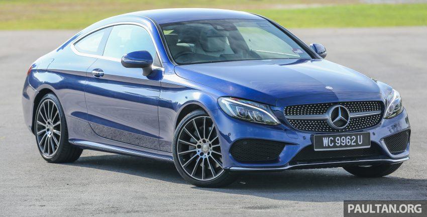 能文能武:Mercedes-Benz C250 Coupe 试驾心得。 Image #8308