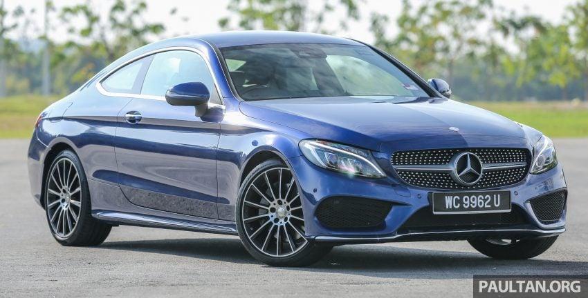 能文能武:Mercedes-Benz C250 Coupe 试驾心得。 Image #8309