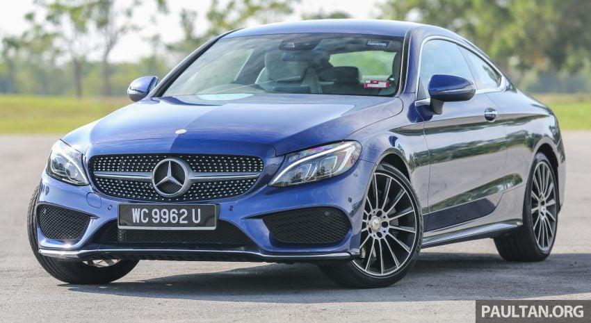 能文能武:Mercedes-Benz C250 Coupe 试驾心得。 Image #8311