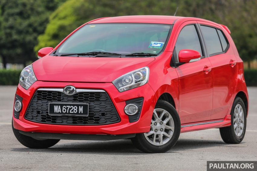 兄弟阋墙: Perodua Bezza vs Axia, Sedan对Hatchback! Image #5899