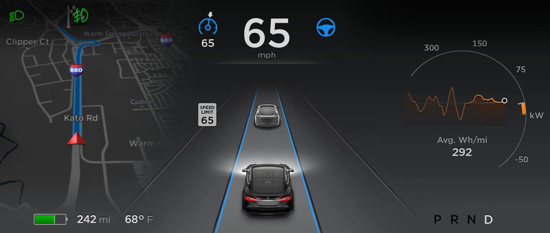 Tesla >> Tesla推出更新版自动驾驶系统,声称更可靠与更安全! tesla-autopilot-01 - Paul Tan 汽车资讯网