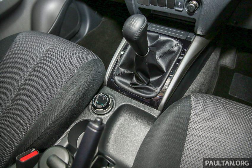 小改款新引擎Mitsubishi Triton本地上市,价格RM73k起! Image #5961