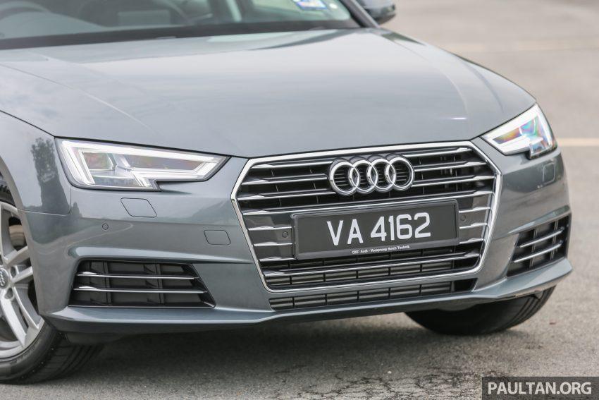 试驾:新旧对决!audi A4 B8 Vs B9,经过八年的锐变! Audia4 B9 Ext 15 Paul