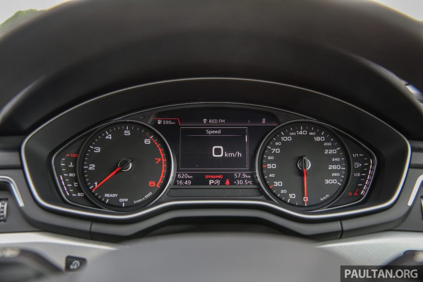 试驾:新旧对决!audi A4 B8 Vs B9,经过八年的锐变! Audia4 B9 Int 6 Paul