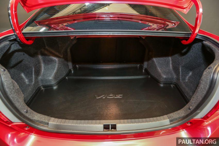 升级版Toyota Vios上市,新引擎和变速箱,全线搭配VSC,新增1.5 GX等级,价格从RM 76.5k至RM 96.4k! Image #8994