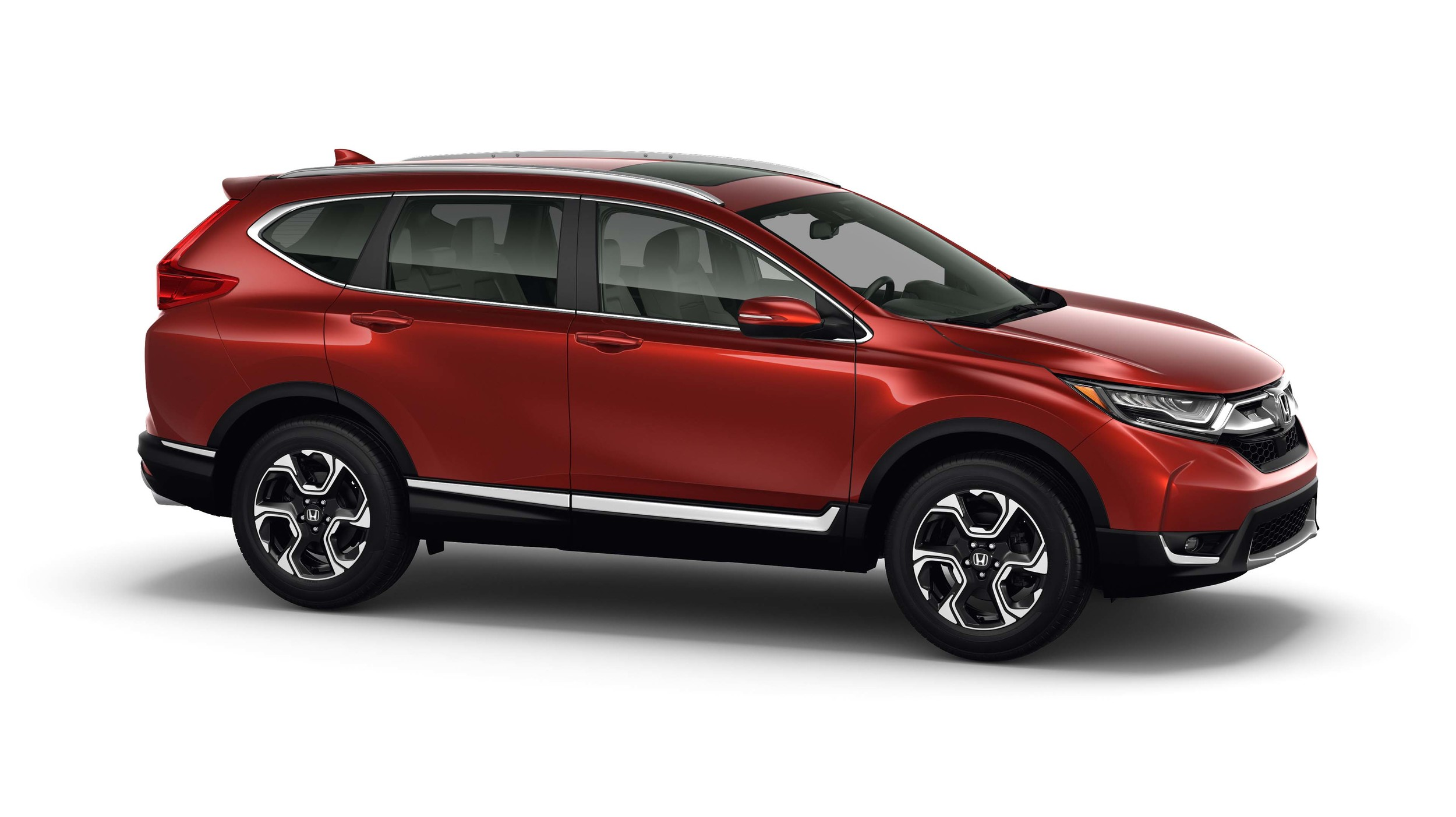 Pictures of the 2017 Honda CR vs