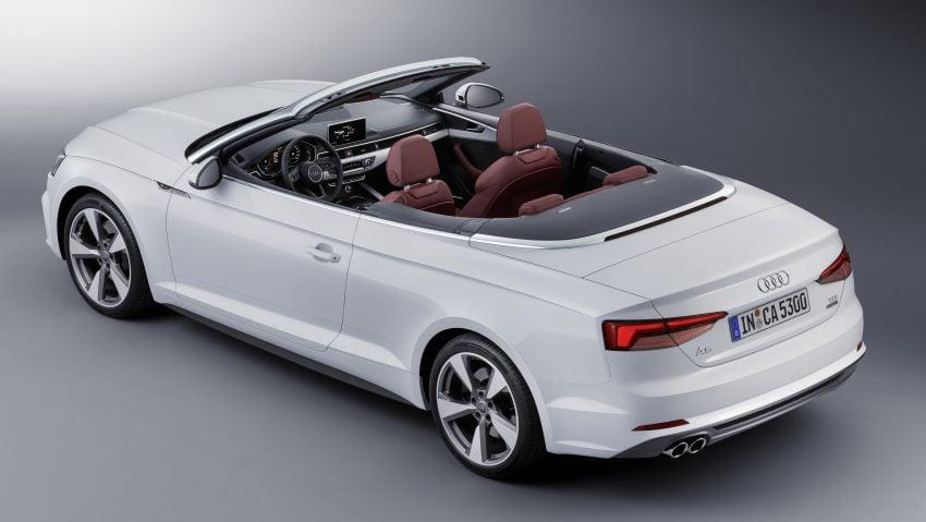 A5家族全新敞篷车,Audi A5 Cabriolet 与 S5 Cabriolet。 Audi A5 ...
