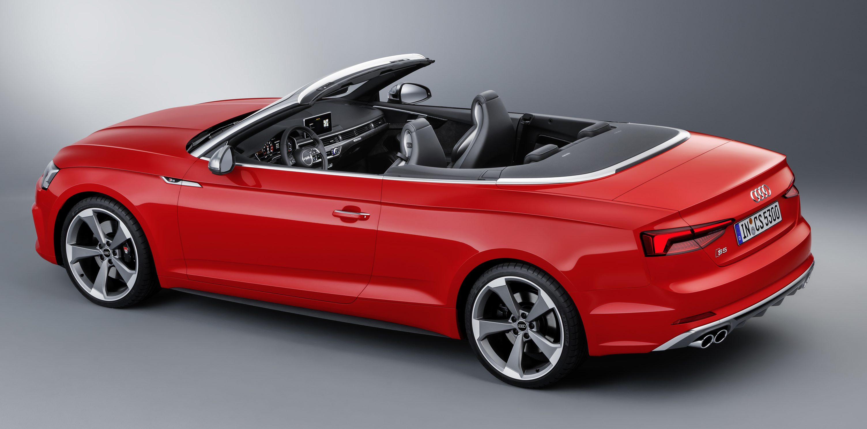 A5家族全新敞篷车,audi A5 Cabriolet 与 S5 Cabriolet。 Audi S5