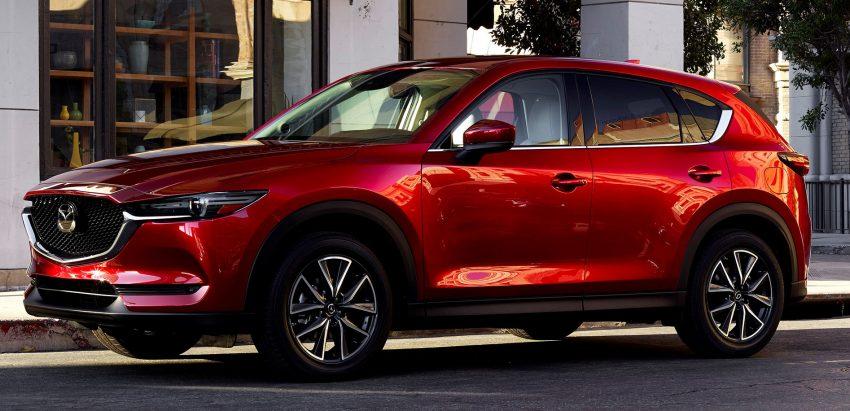 美国发布全新 Mazda CX-5 ,旧引擎+G-Vectoring技术。 Image #13669
