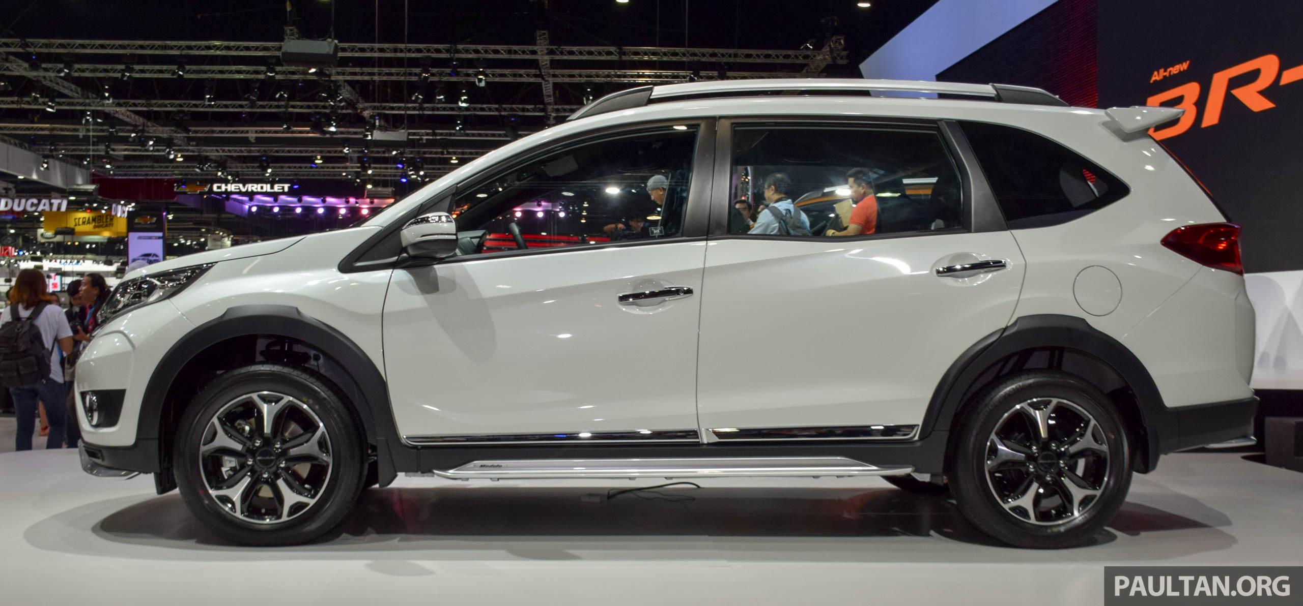 Honda BR-V 本地被拍到进行道路实测,预计明年上市。 honda_br-v_thailand_modulo ...