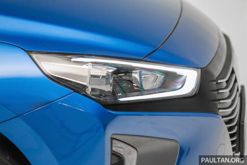Hyundai Ioniq 本地上市,两个等级价格rm100k和111k。 Hyundai Ioniq Ext 19