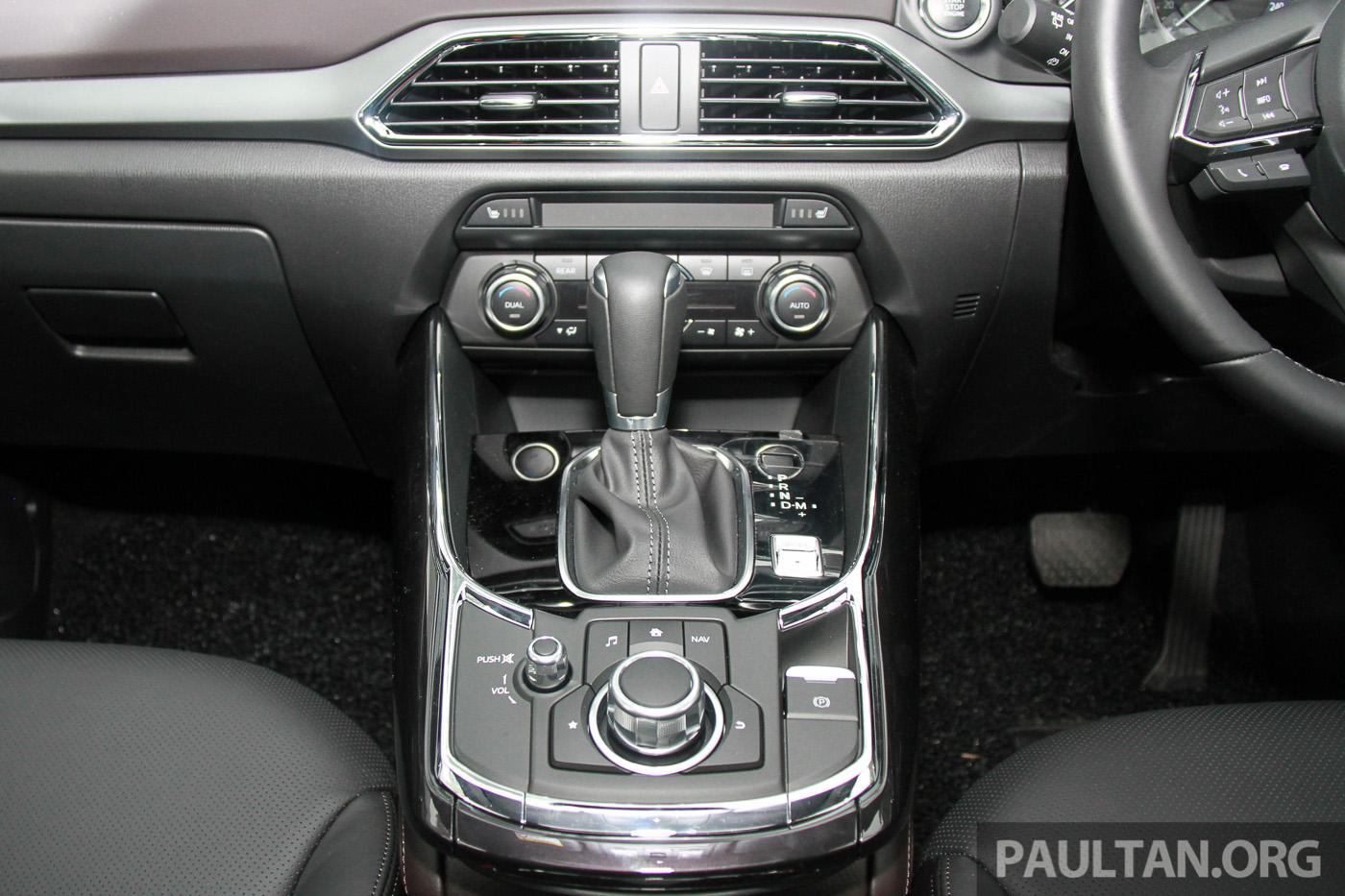 全新 Mazda Cx 9 预览,搭载2 5升skyactiv G 涡轮引擎。 Mazda Cx 9 Skyactiv 2 5 7 Paul Tan 汽车资讯网