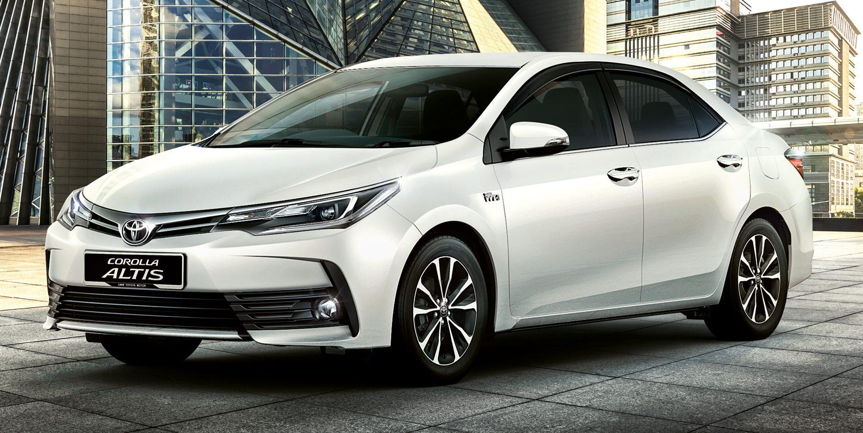 Toyota Corolla Altis 小改款开放预订 配备升级价格不变。 Toyota Altis