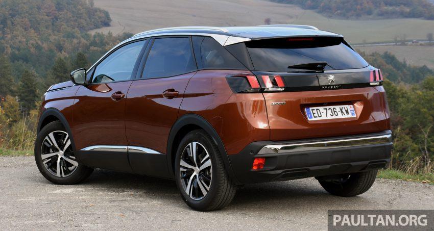 全新 Peugeot 3008 明年第二季来马,搭配1.6涡轮引擎。 Image #14053