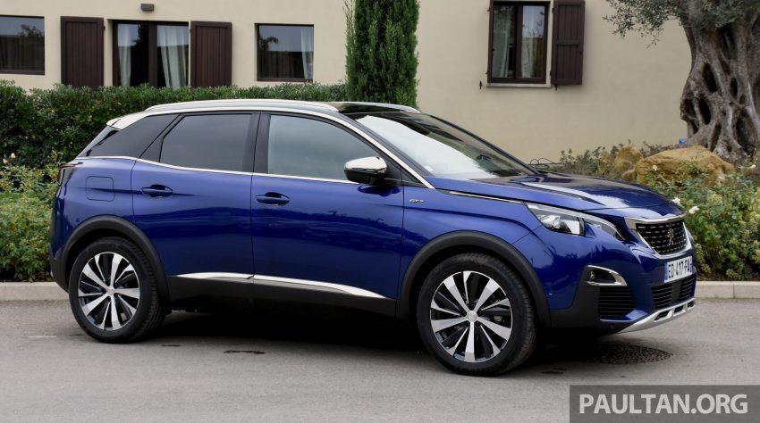 全新 Peugeot 3008 明年第二季来马,搭配1.6涡轮引擎。 Image #14055