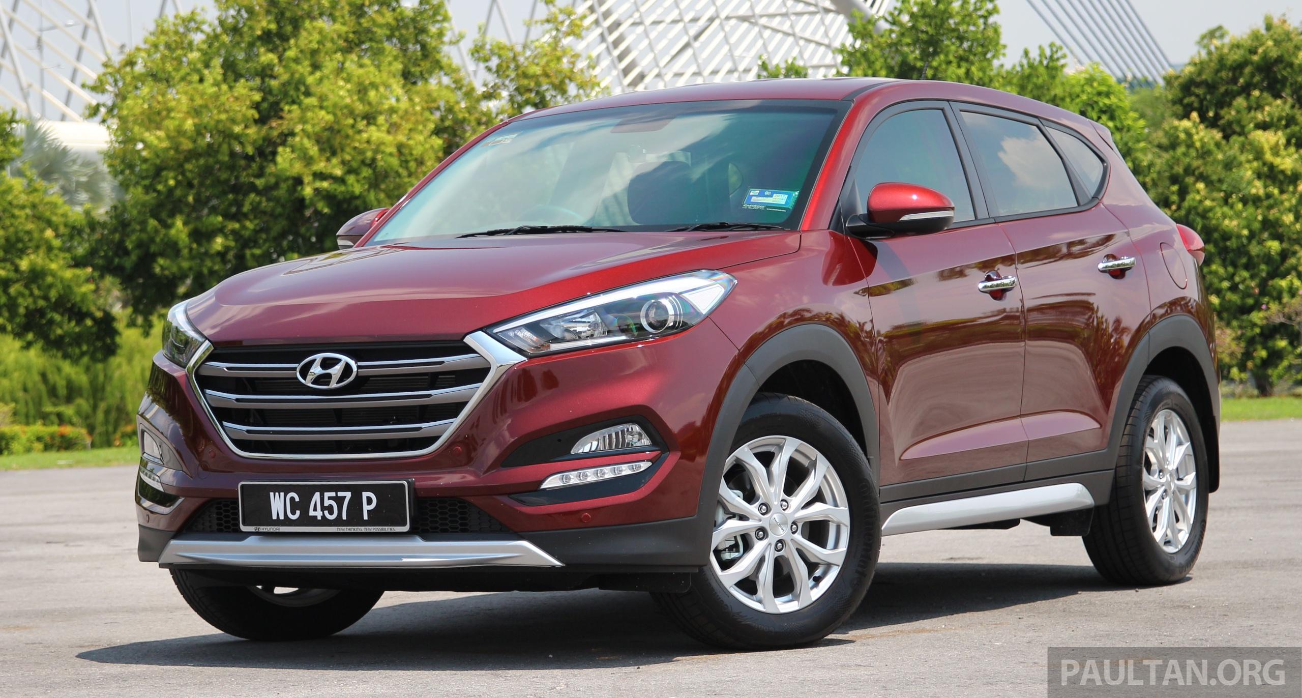 原厂确认,明年初为 Hyundai Tucson 引入两具新引擎! 2016 Hyundai Tucson