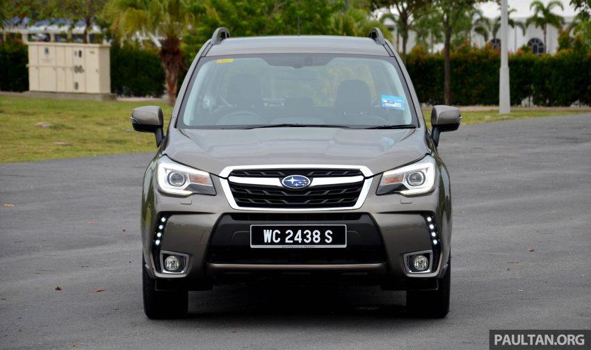 试驾:Subaru Forester 2.0i-P,超高性价比的中型SUV。 Image #15141