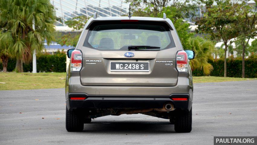 试驾:Subaru Forester 2.0i-P,超高性价比的中型SUV。 Image #15150