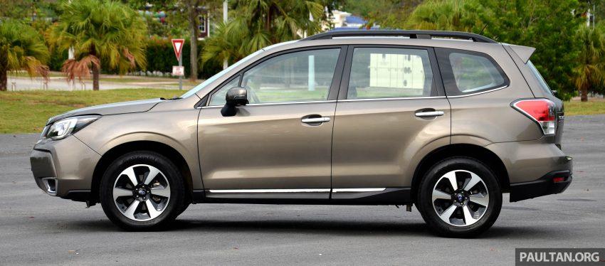 试驾:Subaru Forester 2.0i-P,超高性价比的中型SUV。 Image #15153