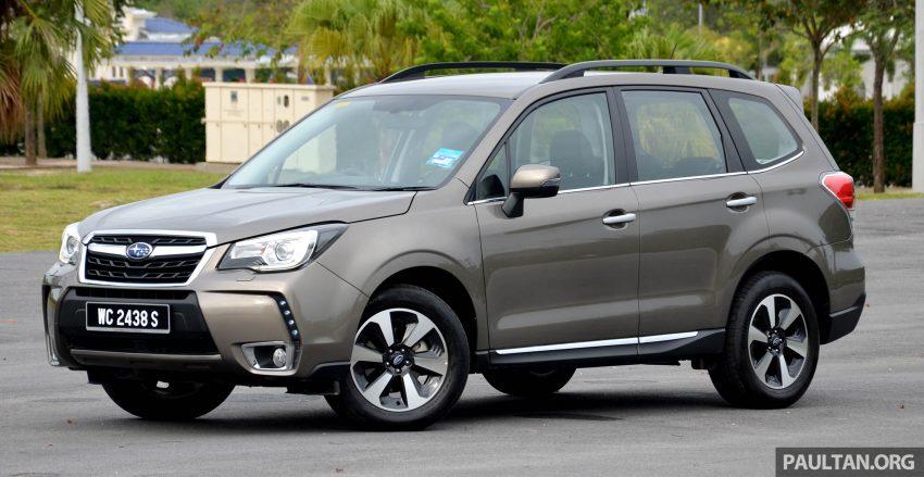 试驾:Subaru Forester 2.0i-P,超高性价比的中型SUV。 Image #15155