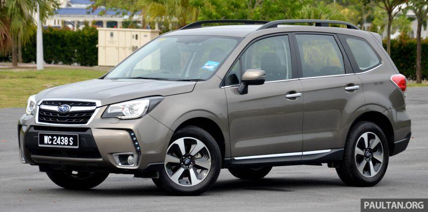 试驾:Subaru Forester 2.0i-P,超高性价比的中型SUV。 Image #15157