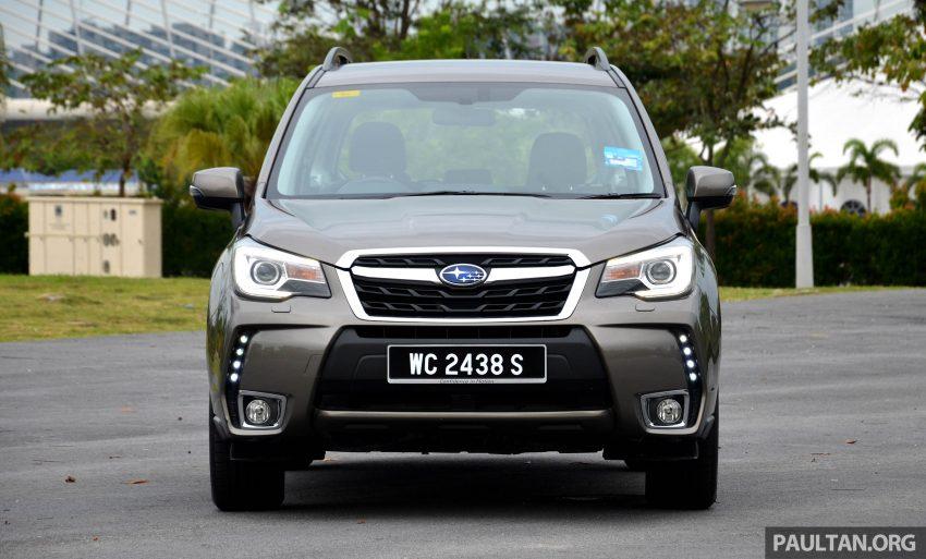 试驾:Subaru Forester 2.0i-P,超高性价比的中型SUV。 Image #15142