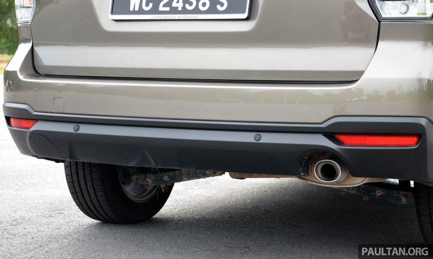 试驾:Subaru Forester 2.0i-P,超高性价比的中型SUV。 Image #15173
