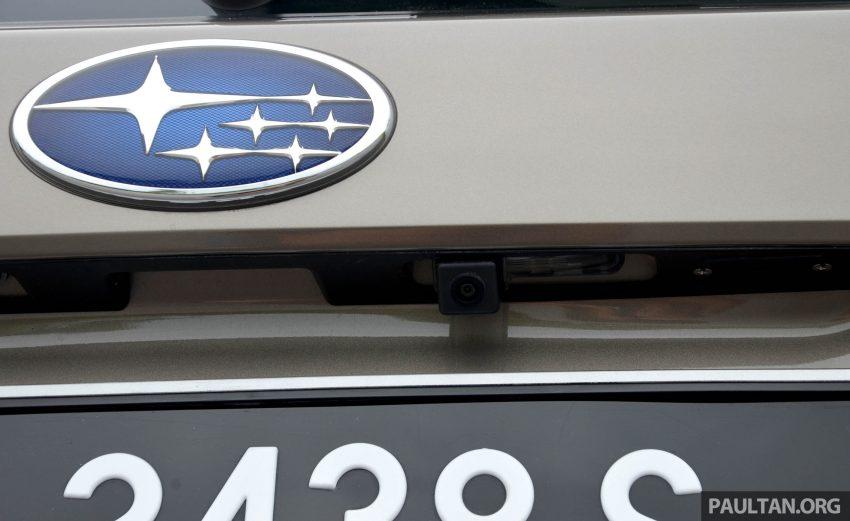 试驾:Subaru Forester 2.0i-P,超高性价比的中型SUV。 Image #15176