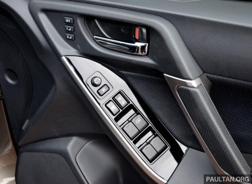 试驾:Subaru Forester 2.0i-P,超高性价比的中型SUV。 Image #15180